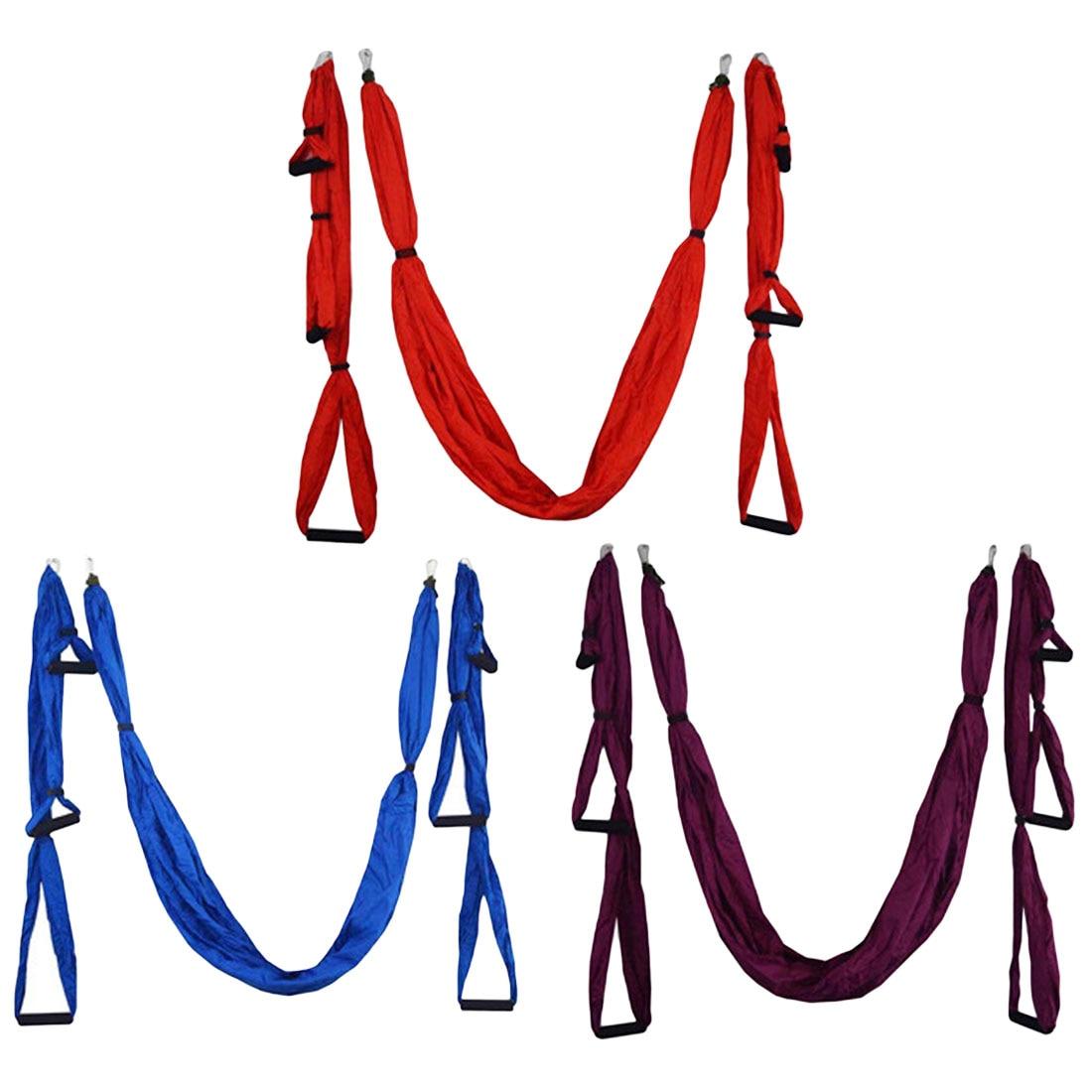 Yoga hamac Anti-gravité balançoire Parachute tissu Inversion thérapie haute résistance décompression hamac Yoga Gym suspendu