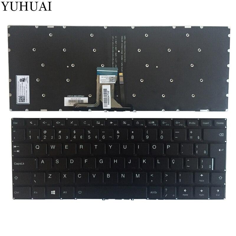 NEW Brazil keyboard For Lenovo Yoga 710-15IKB 710-15ISK 710-14IKB 710-14ISK black BR laptop keyboard with BacklitNEW Brazil keyboard For Lenovo Yoga 710-15IKB 710-15ISK 710-14IKB 710-14ISK black BR laptop keyboard with Backlit