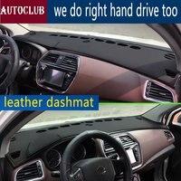 For Maruti Suzuki SX4 S Cross 2013 2015 2016 2017 2018 Leather Dashmat Dashboard Cover Car Pad Dash Mat SunShade Carpet Cover