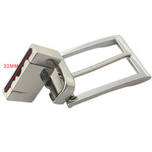 Rectangular Alloy Pin Single Prong Clip Buckle for Men Leather Belt Spare Replacement