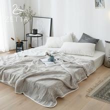 [ZETTA] 100% хлопок летнее одеяло для взрослых крышка Стёганое одеяло мягкие покрывала для кресла/кондиционер Одеяло 0005