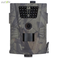 Infrared HT 001 HD Night Vision Hunting Camera 60 Degree Detection Angle Outdoor Digital Hunting Trail