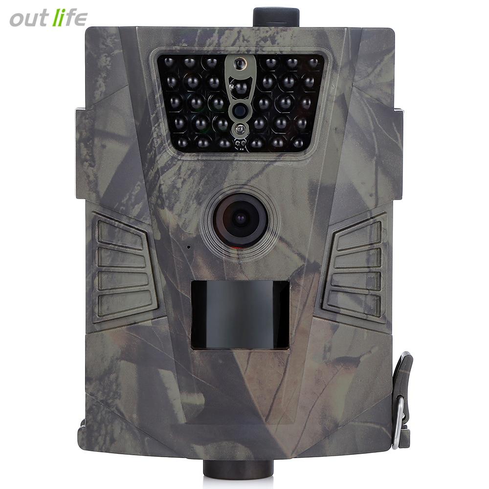 Infrarouge HT-001 HD Vision Nocturne Chasse Caméra 60 Degré Angle De Détection Extérieure Numérique Trail Chasse Caméra Dispositif