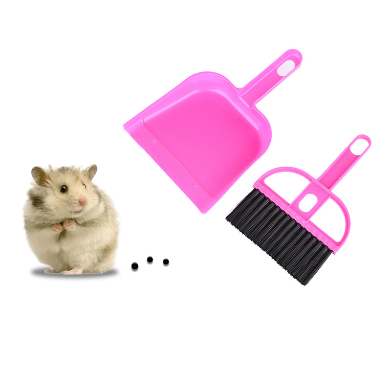 Cleaning Kit Dustpan Broom Sweep Kit For Pets Hamsters Small Pets  Chinchillas Guinea Pigs