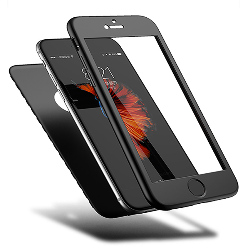 360 Degree Full Protection Case Silicone Soft TPU Slim Back Cover