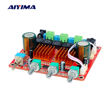AIYIMA Home Amplifiers Audio Board Class D 2 1 Digital Power Amp 100W 50Wx2 Fever HIFI