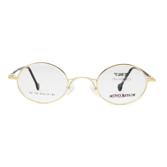 c92028af21 placeholder ESNBIE Vintage Eyeglasses Men Small Round Metal Eye Glasses  Frames for Women Optical Glass Prescription Eyewear