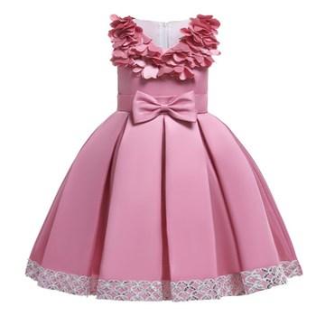 2019 Christmas Dress Girls Elegant Princess Dress Kids Dresses For Girls Costume Wedding Evening Party Gown Children 2 8 10 Year 1