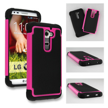 10pcs For LG G2 Heavy Duty Football Pattern Shockproof Case Hybird Armor Feature Back Cover Free Shipping