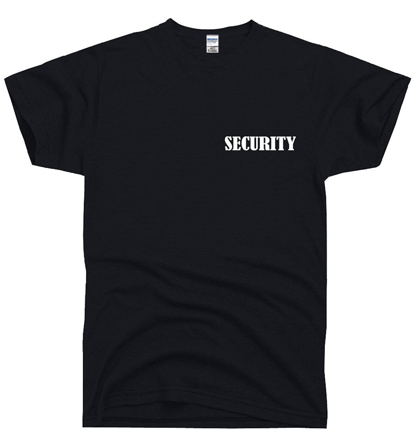 Black t shirt security - T Shirt Hot Topic Men Short Sleeve Dirtyragz Men S Official Security Guard Print Front