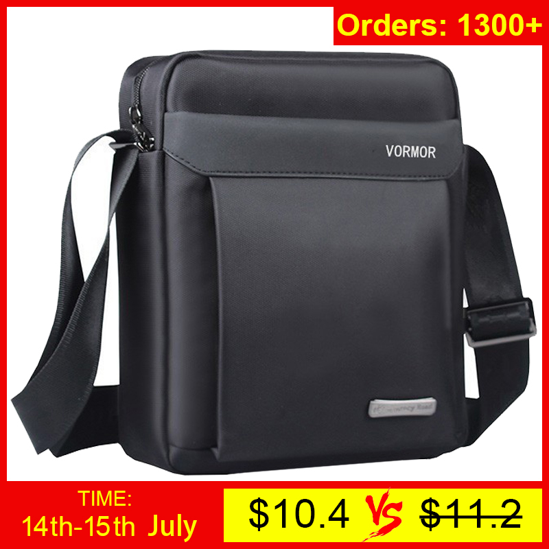 VORMOR 2019 man shoulder bags oxford casual messenger bag