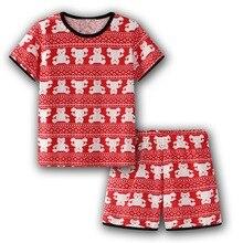 NEW Pajamas Set Homewear Cartoon Cotton Childrens Sets Baby Girls T-shirts Short Pants Kids Clothing Summer