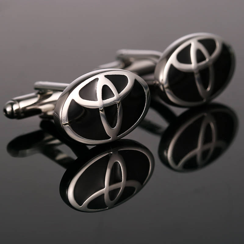 Luxury shirt Car logo cufflink Cuff Buttons Cuff links High Quality automobile Gemelos P ...