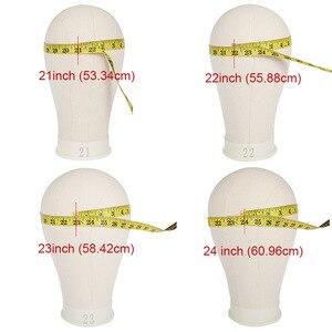 Image 5 - Xtrend かつらヘッドキャンバスブロックホルダーマネキンマネキンスタンドプロフェッショナルスタイリング作成ツールヘッド Manequin ため表示