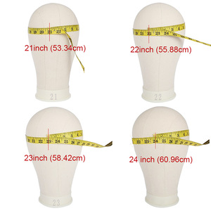 Image 5 - Xtrend Wig Head Canvas Block Holder Mannequin Manikin Stand Professional Styling Making Tools Heads Manequin For Wigs Display