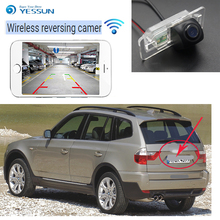 New Arrival! Car wireless backup camera For BMW X3 E83 2003~2010 Wireless link mobile phone touch screen car reversing CCD HD