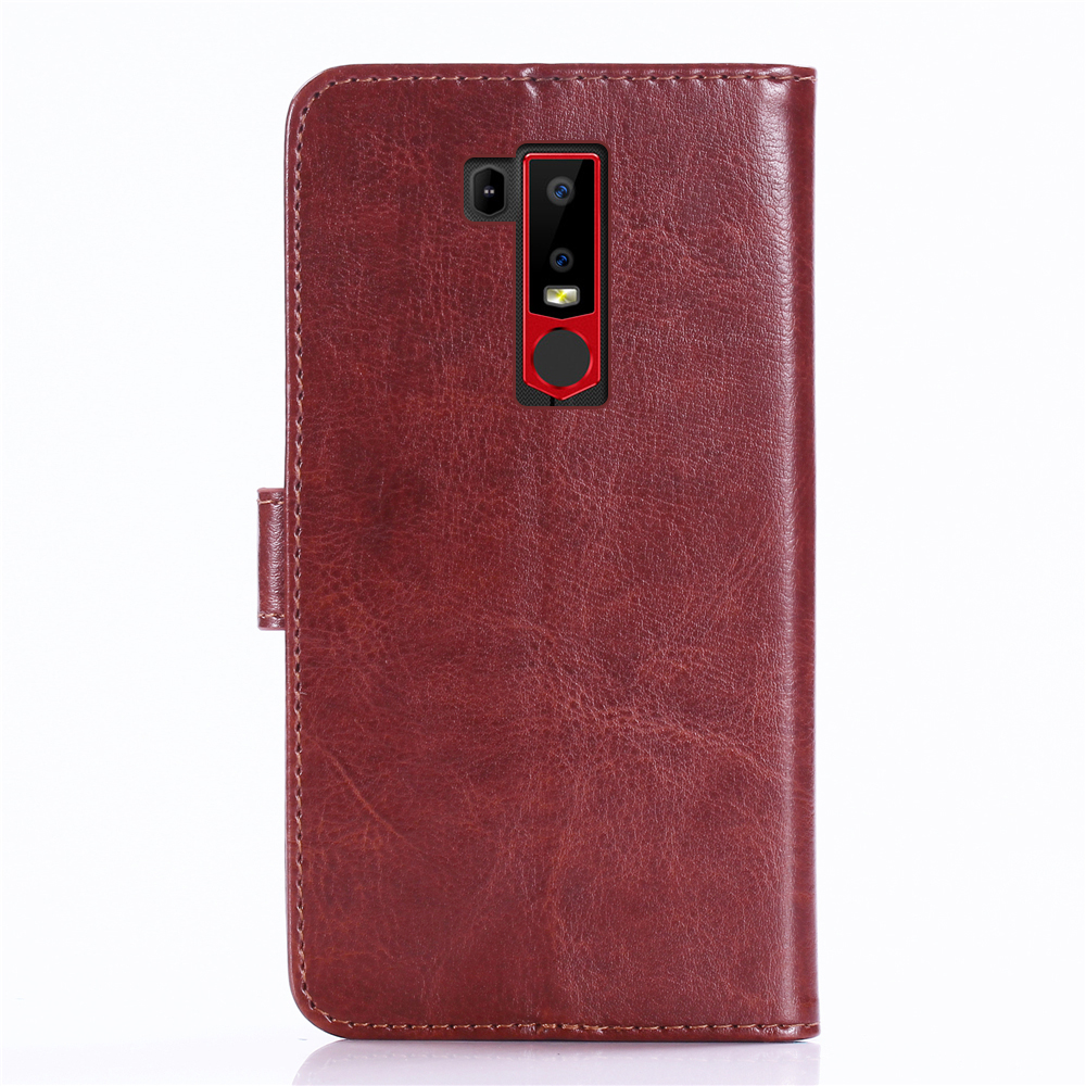 GUCOON Classic Wallet Case for Ulefone Armor 6 6E Cover PU Leather Vintage Flip Cases Fashion Phone Bag Shield 2