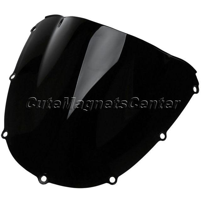 1x Airflow Adjustable Motorcycle Wind Deflector Universal Motos Windshield Windscreen For Honda CBR 900RR CBR954 2002-2003 02 03