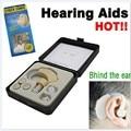 Новый небольшой и удобный заушные слуховые спид лучший звук усилитель громкости регулируемый за ухом