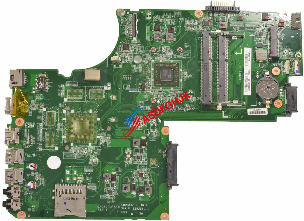 Original FOR Toshiba L75D Motherboard A4-4500U CPU A000243960 DA0BD9MB8F0  100% TESED OKOriginal FOR Toshiba L75D Motherboard A4-4500U CPU A000243960 DA0BD9MB8F0  100% TESED OK