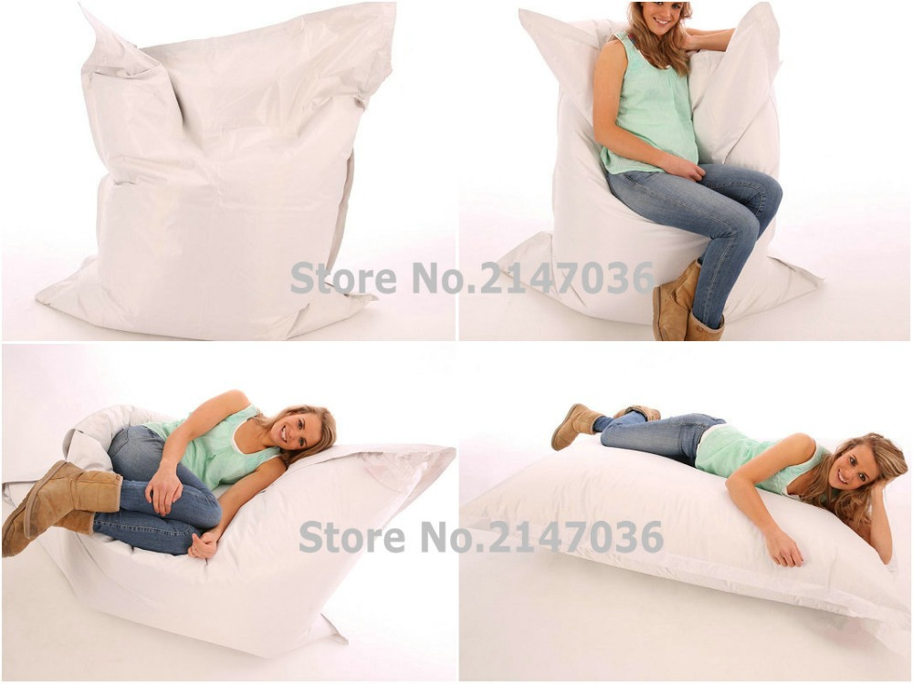 Full Enjoyment Outdoor Bean Bag Refill Of Beans Lazy Indoor Sofa Beanbag Chair Great Quality Last For 5 Year Usage Up