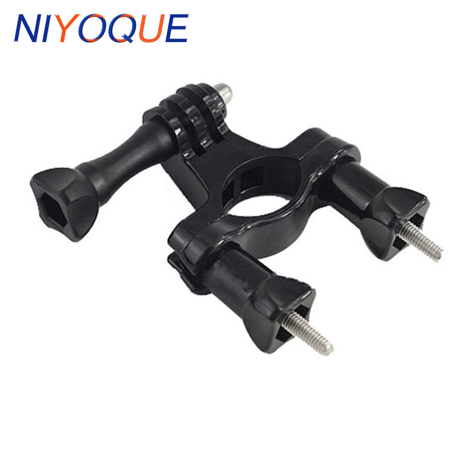 for go pro Accessories New Fixed Handle Bar Bike Bicycle Holder Mount for Gopro Hero 6/5/4s/4/3+3/2/1 Xiaomi Yi Camera pannovo universal abs plastic bicycle bracket holder mountt for gopro hero 4 2 3 3 grey