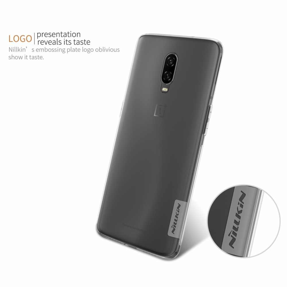innovative design cb08c c336f case For Oneplus 6T One plus 6T NILLKIN Nature Transparent clear soft TPU  Luxury back cover for oneplus 6T