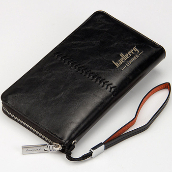 Luxury Brand Men's Leather Wallets Purse