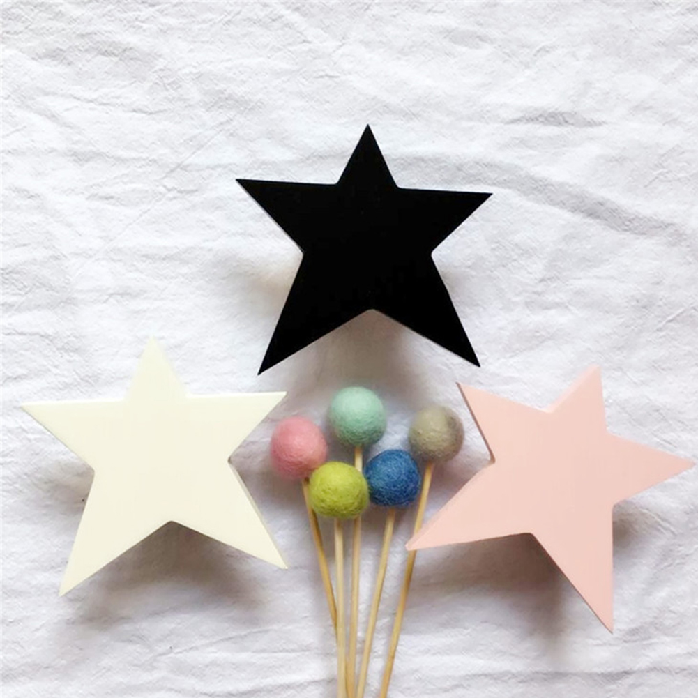 Wall Hook Coat Rack Home Clothing Hanger Hat Sticky Bedroom Kids Room DIY Towel Wooden Star Organizer Children Decoration