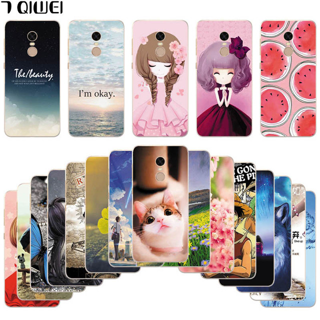 reputable site 1e84d 7b31f US $1.44 39% OFF|Silicone Cover For Xiaomi Redmi 5 Plus Case 5.99 Printing  Cool Animal Case for Xiaomi Redmi 5 Plus Cover Redmi 5Plus Phone Cases-in  ...