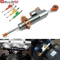 FX CNC Universal Aluminum Motorcycle Damper Steering Stabilize Safety Control For Yamaha MT09 MT07 YZF R1