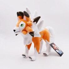 Peluches suaves de lycanroc para niños, muñecos de dibujos animados de animales, 21x27cm, regalo para niños, envío gratis