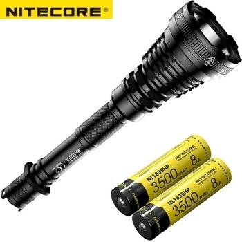 NITECORE MH40GTR CREE XP-L HI V3 LED 1200 Lumen Ultra Long Range 1004M Hunting Search Torch Tactical Rechargeable Flashlight