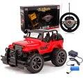 Бесплатная Доставка 2017 Новый Прибыл 1:24 Мода Дистанционного Управления Toys RC Автомобиль Электрический Автомобиль Jeep Для Детей HT2671