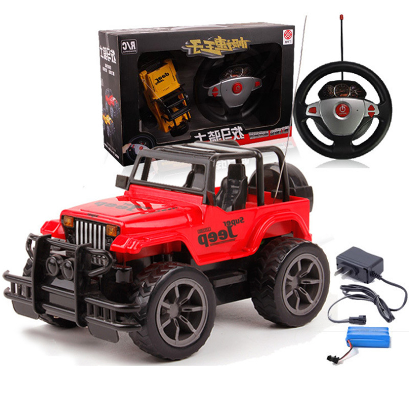 free shipping 2017 new arrived 124 fashion remote control toys rc car electric jeep