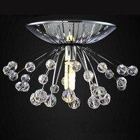 Moderne Lustre En Cristal Luminaire Dia15 * H7cm Mini Lustre Cristal Led Lampe Pour Chambre Salon Salle À Manger Rroom WCL015