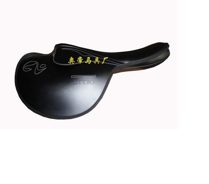Aoud Saddlery Horse Riding Saddle Microfiber Leather Morning Exercise Saddle Tourist Saddle Portable Saddle