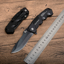 Top Army Knife Cold Steel Black Fixed Blade Folding Pocket Knife Tactical Survival Knives Camping Knifes EDC Tool free shipping цена в Москве и Питере