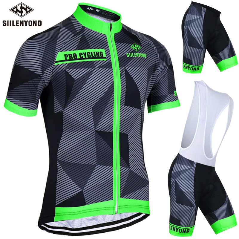 ФОТО SIILENYOND 2017 Summer Cycling Set Clothing Short Sleeve MTB Bicycle Clothes Maillot Ropa Ciclista Bike Jerseys Sportswear