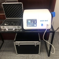 8BAR ED Portable shock wave physiotherapy equipment Shockwave therapy Pain relief health machine with extra 5 bullets