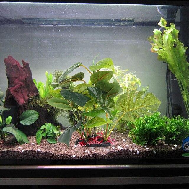Underwater Artificial Aquatic Plant Ornament Artificial Green Plant Decor For Fish Tank Aquarium Ornament  Landscape Decoration
