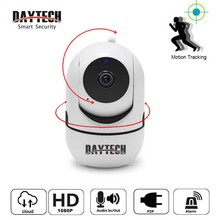 DAYTECH Wireless Security IP Camera Mini WiFi Auto Motion tracking 720P/1080P Audio Cloud CCTV Monitor
