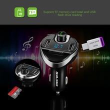 FM передатчик Bluetooth Беспроводной fm-модулятор радио Hands Free Car Kit MP3 аудио плеер с USB Автомобильное Зарядное устройство TF U
