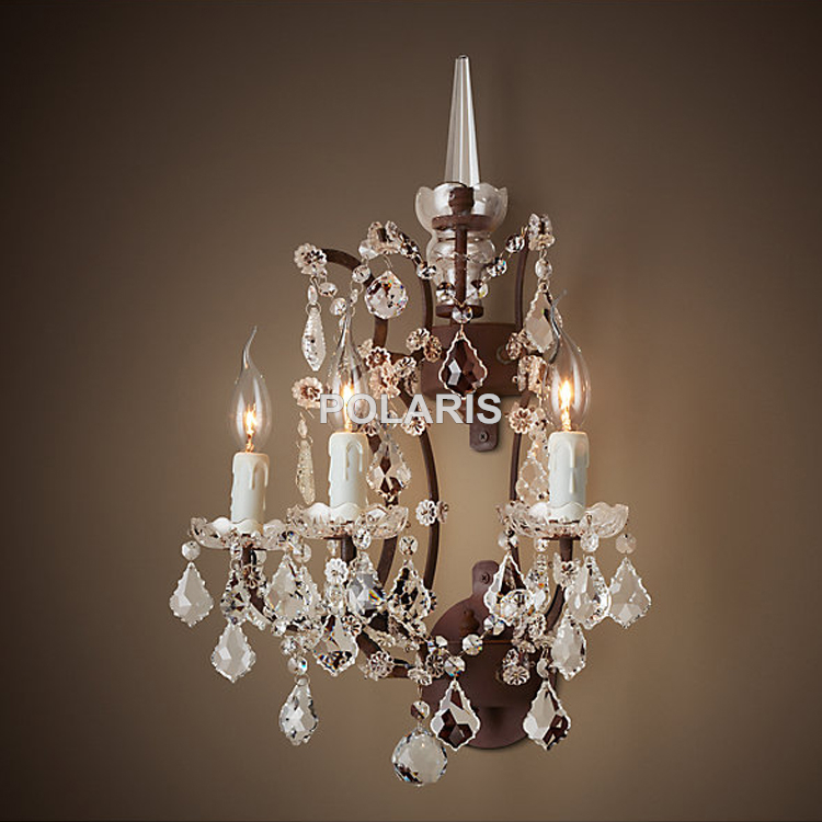 sconces wall crystal sconce chandeliers chandelier gallery productdetail