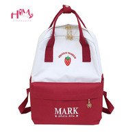 Teenager Girls Backpack Harajuku Cute Backpacks Women Kawaii Strawberry Laptop Back Pack Yellow shoulder School Bag Rucksack