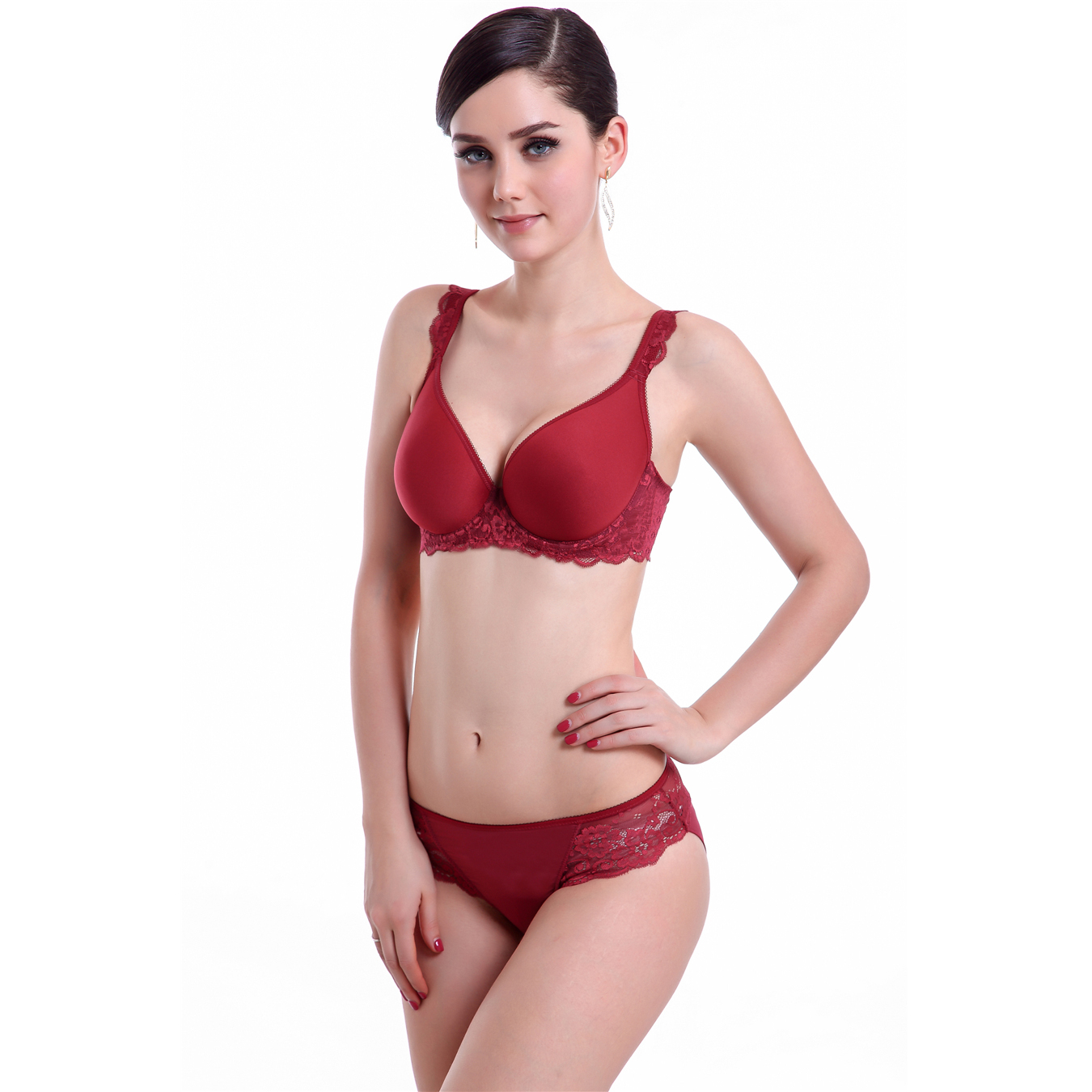 Popular Plus Size Bra Set-Buy Cheap Plus Size Bra Set lots from ...