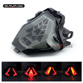 For YAMAHA YZF-R25 YZF-R3 MT-25 MT-03 MT25 MT03 Motorcycle Accessories Integrated LED Tail Light Turn signal Smoke
