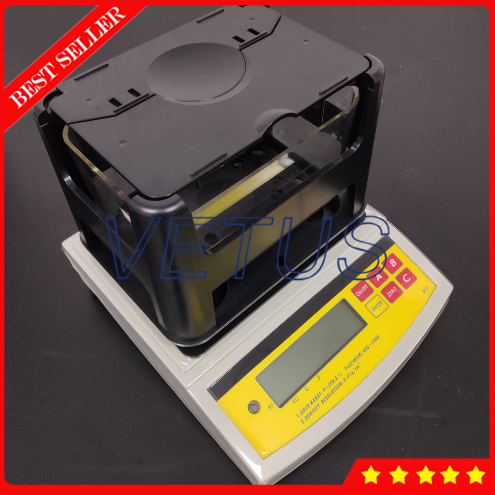 DH 300K Electronic Gold Purity Tester Jewelry Gold Carat Tester Gold Densimeter Digital Gold Value Content