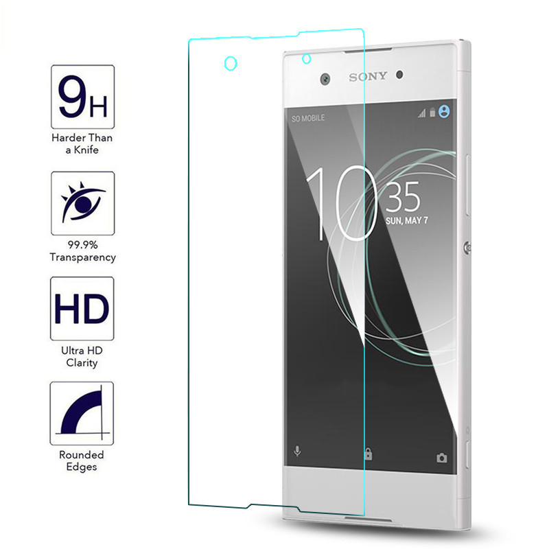 2pcs For Tempered Glass Sony Xperia XA1 Screen Protector For Sony Xperia XA1 Glass For Sony Xperia XA1 Glass Front Film ^