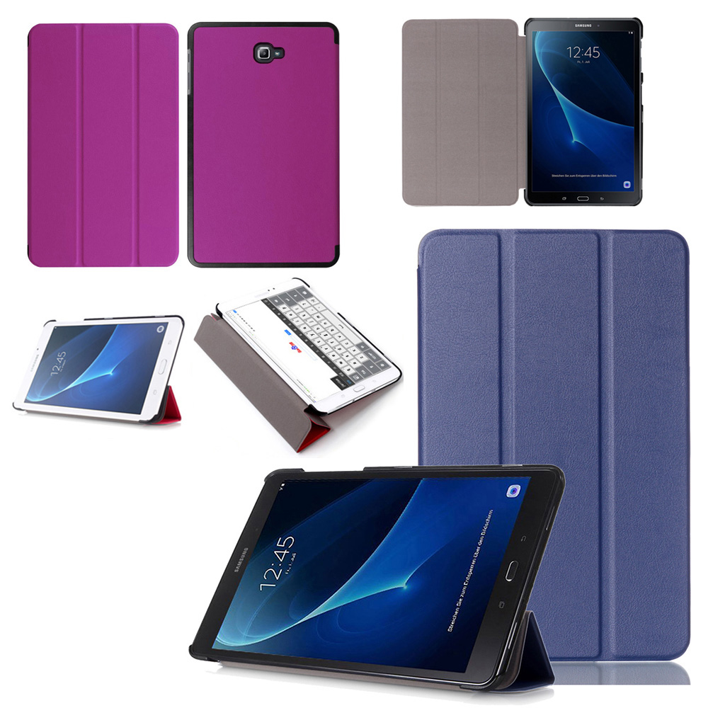 Ultra Slim Flip Stand Leather Magnet Smart Cover Funda Case For Samsung Galaxy Tab A 10.1 T585 T580 SM-T580 SM-T585 T580N T585C все цены
